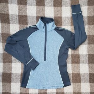 Columbia Gray Half Zip